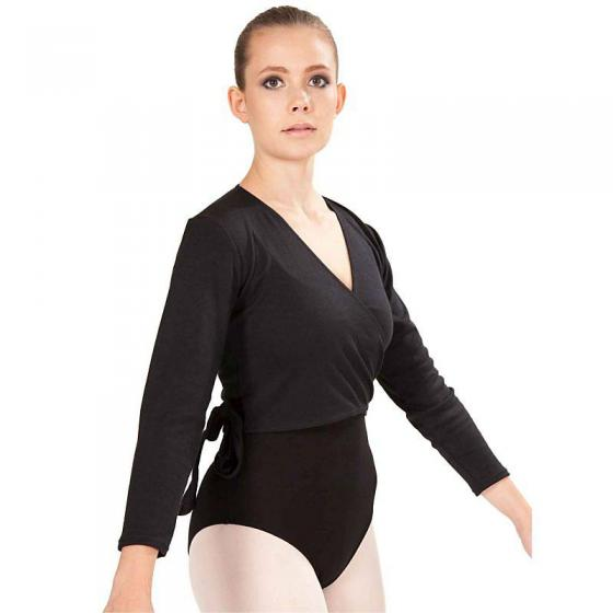 Intermezzo 6544 Ballett Wickeljacke in Schwarz