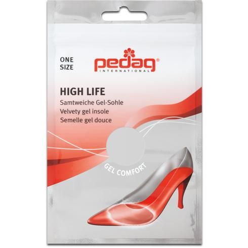 Pedag High Life Halbsohle Gel