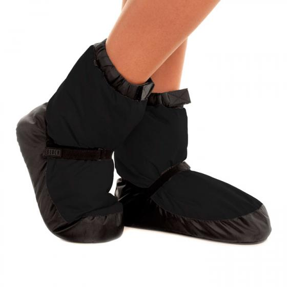 Bloch Warm-Up Boots IM009 in schwarz