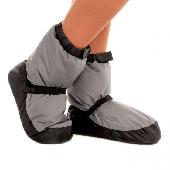 Bloch Warm-Up-Bootie IM009 in light-grey (hellgrau)