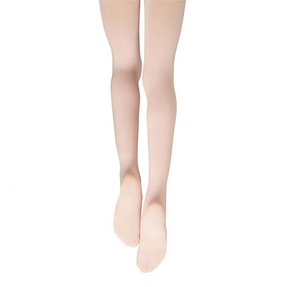 Capezio 1882 Essentials Footed Tight, Ballettstrumpfhose rosa mit Fuss